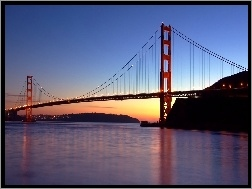 Golden Gate, Wisz�cy, San Francisco, Most